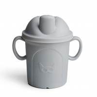 Herobility Schnabeltasse Hero Eco Cup, 210 ml - mist grey