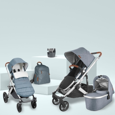 Uppababy Vista v2 3KH Set Plus, Gregory