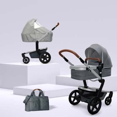 JOOLZ Day+ Kinderwagen #3KHSetLight 4in1, Gorgeous Grey