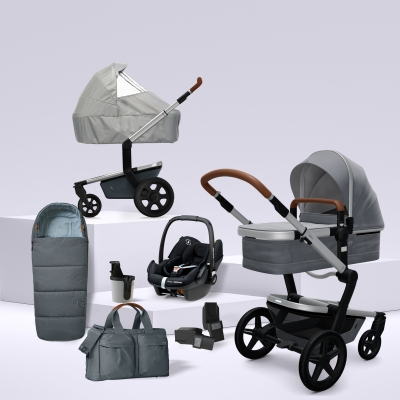JOOLZ Day+ Kinderwagen #3KHSetPremium 8in1, Gorgeous Grey (mit Maxi Cosi)