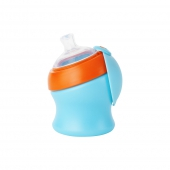 Boon Swig Spout, orange& blau