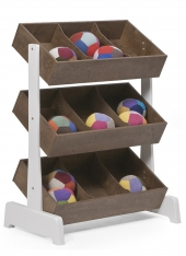 Oeuf NYC Spielzeugregal Toy Storage, Walnuss
