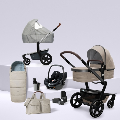 JOOLZ Day+ Kinderwagen #3KHSet 8in1, Timeless Taupe (mit Maxi Cosi)