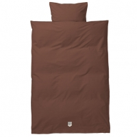 Ferm Living Bettwäsche, Junior, Cognac