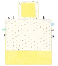 Snoozebaby Wickelmatte Easy Changing, Limoncello