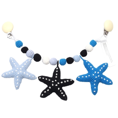 NatureZoo of Denmark Kinderwagenkette, Starfish Boy Version