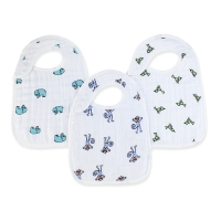 Aden + Anais Lätzchen Snap Bibs, 3er Pack - Jungle Jam
