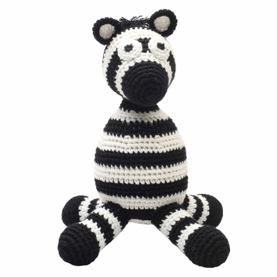 NatureZoo of Denmark Kuschelstricktier, Mr. Zebra