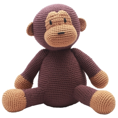 NatureZoo of Denmark XL-Spieltier, 40 cm hoch - Mr. Monkey