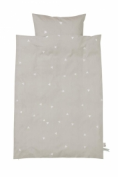 Ferm Living Bettwäsche, Baby, Teepee Grey
