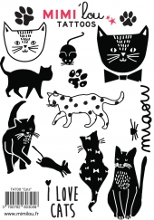 MIMIlou Kinder-Tattoos, Cats
