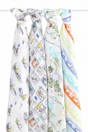 Aden Anais Mulltuch Swaddles, 4er-Pack - Winnie The Pooh