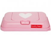 FunkyBox To Go, Pink White Hearts