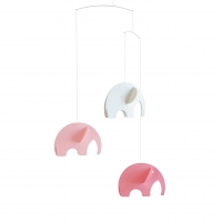 Flensted Mobile, Elefanten Rosa